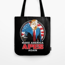 Make America Apes Again Tote Bag