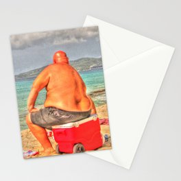 Fat Beach  Stationery Cards