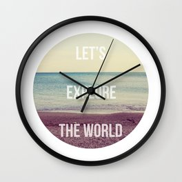 Explore Wall Clock