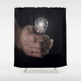 Idea Man Shower Curtain