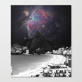 Ipanema's Universe Canvas Print