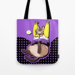 Pride Cats - Nonbinary Pride Tote Bag