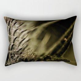 Macro Flower Rectangular Pillow