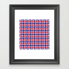 Configuration française #2 Framed Art Print
