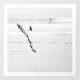 catch a wave VI Art Print
