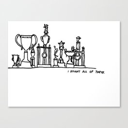 Trophies Canvas Print