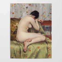 A Modern Magdalen by William Merritt Chase Poster