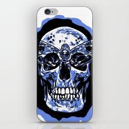 Moth Skull iPhone Skin