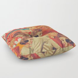 Woman Power Floor Pillow