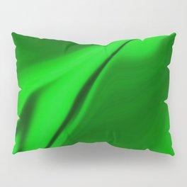 Smooth Green Design Pillow Sham