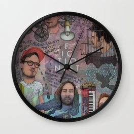 Fictionist - Between A Bright Future And A Terrible Dream Wall Clock