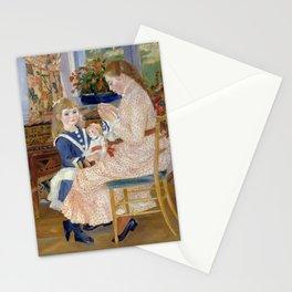 """Auguste Renoir """"L'après-midi des enfants à Wargemont (The childrens' afternoon at W.) Stationery Cards"""