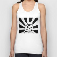 stormtrooper Tank Tops featuring StormTrooper by Shelly Lukas Art