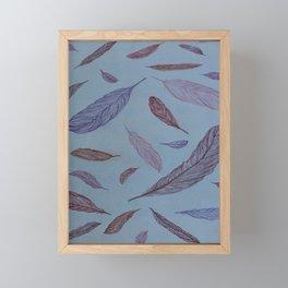 Flying Feathers Framed Mini Art Print