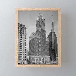 Light Street, Baltimore Framed Mini Art Print