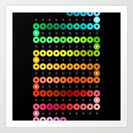 Rainbow Chain Art Print