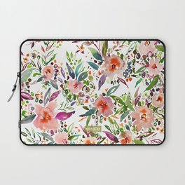 INCOGNITO INTROVERT Tropical Colorful Floral Laptop Sleeve