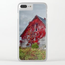 """Abandoned"" Clear iPhone Case"