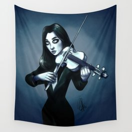 Number 7 - Vanya the white violin Wall Tapestry