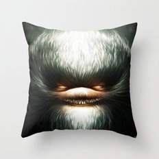 Little Evil Throw Pillow