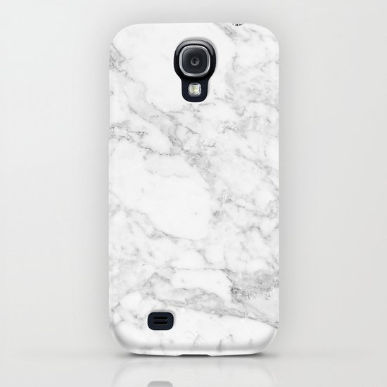 White Marble Edition 2 Iphone Case By Kaeting