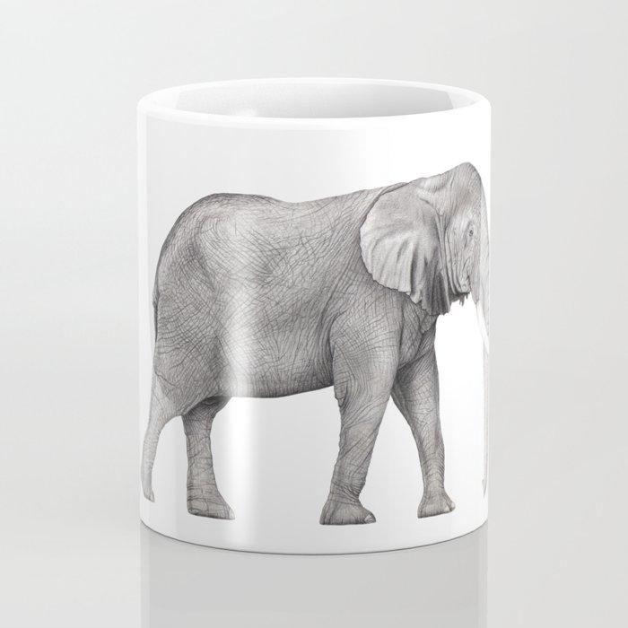 Bull Elephant  Coffee Mug