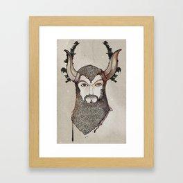 Minotaurus Framed Art Print