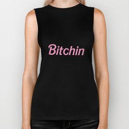 Bitchin Crop Top Tank Womens Fcuk Fun Hipster Retro Pink hip hop T-Shirts Biker Tank