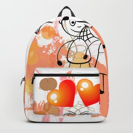 Beste Freunde - best friends Backpack
