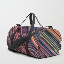 Gradient Stripe Included Duffle Bag
