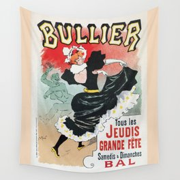 Bullier French dance hall days Wall Tapestry