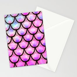 Mermaid scale Stationery Cards