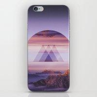 spires iPhone & iPod Skins featuring Tri-Spires by Adam Egginton