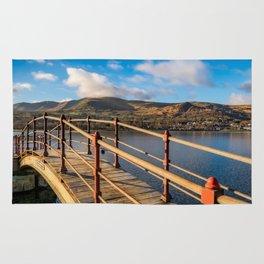 Padarn Lake Footbridge Rug