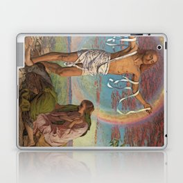 Christ and the Two Marys Laptop & iPad Skin