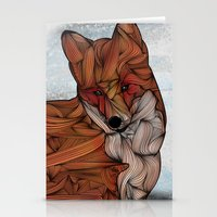 micklyn Stationery Cards featuring Red Fox by Ben Geiger