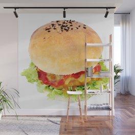 Hamburger Wall Mural