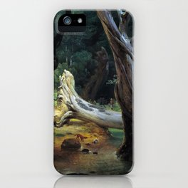 Horace Vernet Departure for the Hunt in the Pontine Marshes iPhone Case