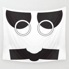 Face Groucho Graphic Wall Tapestry