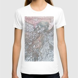 The Winged Octopus Tamer T-shirt