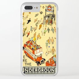The Lure Of The Underground Clear iPhone Case