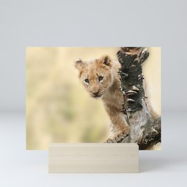 Lion Animal Nature Mini Art Print