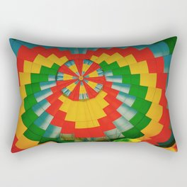 Hot Air Pattern Rectangular Pillow