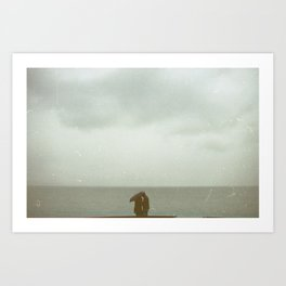 Love in Montreux Art Print