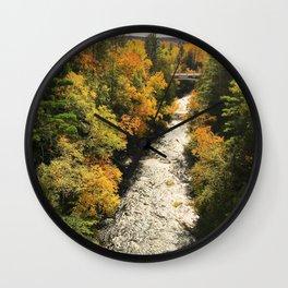 Water-Fall Colors Wall Clock