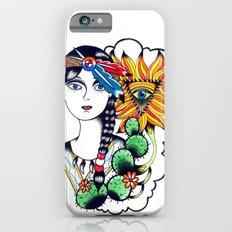 Cactus Eye Tattoo Style Slim Case iPhone 6s