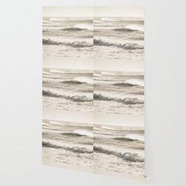 Windswept Waves Wallpaper