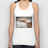 calm Tank Tops featuring Calm by SpaceFrogDesigns