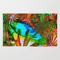 aloha Area & Throw Rugs featuring Aloha by Glanoramay