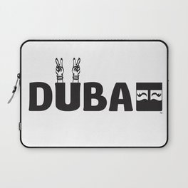 PEACE DUBAI Laptop Sleeve